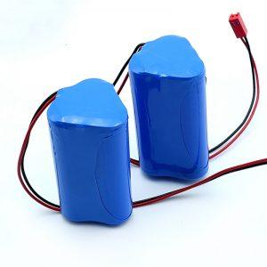 Laetav liitium-ioon 3S1P 18650 10.8v 2250mah liitiumioonaku meditsiiniseadmetele