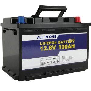 GEL / AGM asendav päikeseenergia aku 12v 100ah LifePo4 liitiumioonaku