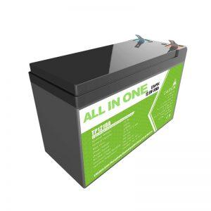 Väikese energiavaru jaoks vahetage pliihappegeeli aku 12V 10Ah liitiumioonaku