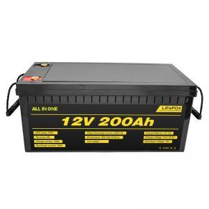 Kohandatav elektriauto 12V Lifepo4 aku 12.8v 200ah koos 2000 tsükli lifepo4 akuga