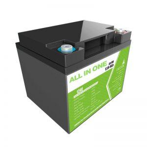 Tehasehind 12,8V 40Ah pliihappe asendaja kodumasinate energiasalvestuseks