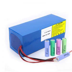 Liitiumaku 18650 72V 20Ah madal isetühjenemise kiirus 18650 72v 20ah liitiumpatarei elektrimootorratastele