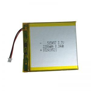 3.7V 2200mAh polümeer-liitiumpatareid nutikodu seadmetele