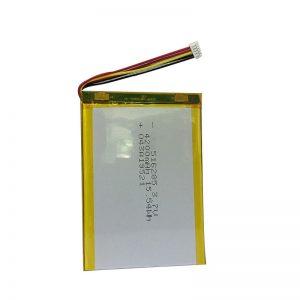 516285 3,7V 4200mAh Nutika kodu instrumendi polümeerliitiumaku
