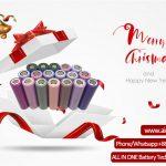 Häid Christamsi tervitusi kõigilt ühes Battery Technology Co Ltd